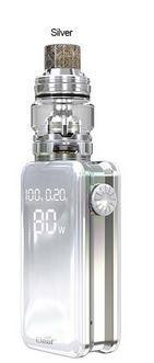 Eleaf iStick Nowos 80W Kit s atomizérem ELLO Duro 6,5ml 4400mAh stříbrný