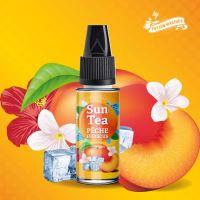 Sun Tea Peche Hibiscus příchuť ledové broskvového čaje s ibiškem 10ml