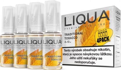 Liqua Elements Traditional Tobacco 6mg 4x10ml tradiční tabák