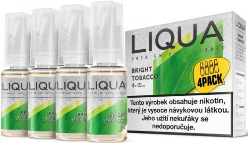 Liqua Elements Bright Tobacco 12mg 4x10ml čistý tabák
