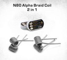 GeekVape N80 Alpha Braid Coil 2in1 F206 0,35/0,25ohm