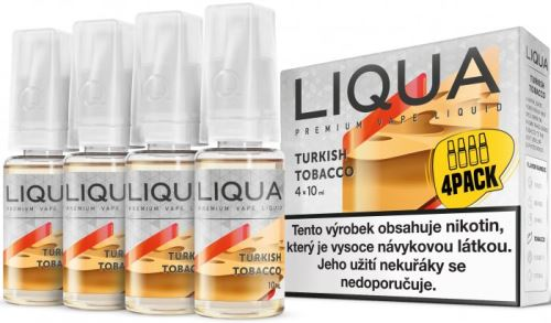 Liqua Elements Turkish Tobacco 12mg 4x10ml turecký tabák