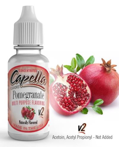 Capella Pomegranate v2 granátové jablko 13ml