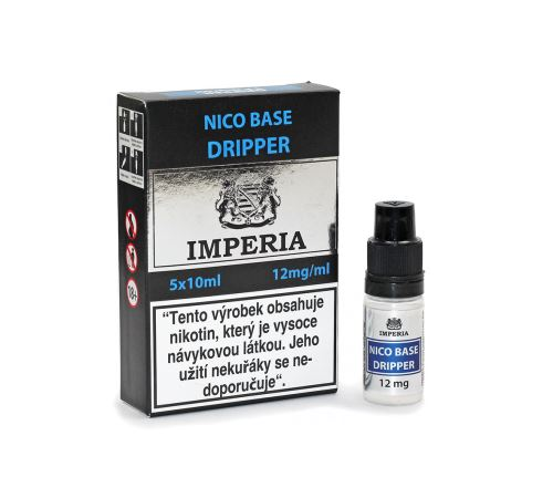 Nico Base Dripper 12mg 5x10ml