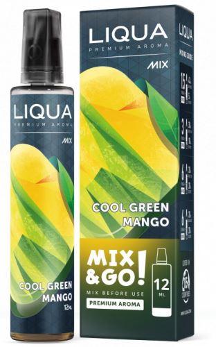 Liqua Mix&Go Cool Green Mango 12ml Shake and Vape
