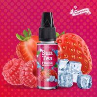 Sun Tea Fraise Framboise příchuť ledové malinového čaje s jahodami 10ml