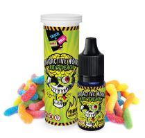 Chill Pill Radioactive Worms příchuť broskových kyselých bonbonů 15ml Shake and Vape
