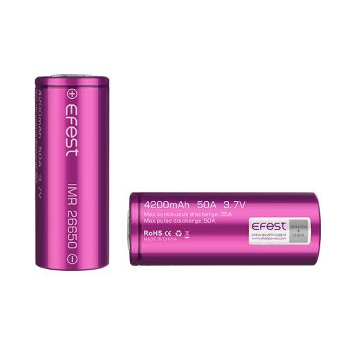 Efest baterie 26650 4200mAh