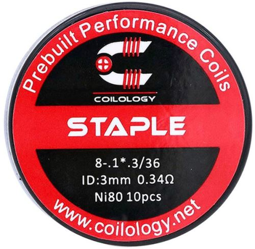 spirály coilology staple