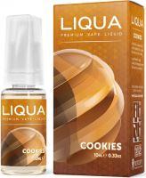 Liqua Elements Cookies 6mg 10ml sušenka