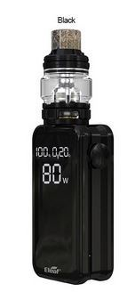Eleaf iStick Nowos 80W Kit s atomizérem ELLO Duro 6,5ml 4400mAh černý