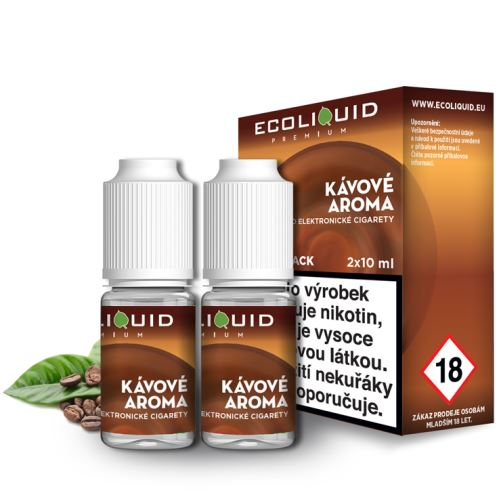 Ecoliquid káva 2x10ml