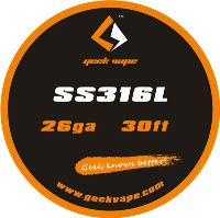 GeekVape SS316L 26ga 0,4mm 10m ZS02