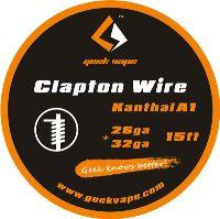 GeekVape Clapton 26ga+32ga Kanthal A1 5m
