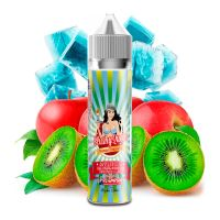 PJ Empire Slushy Queen Applegizer příchuť 12ml ledový energetický nápoj s jablky a kiwi