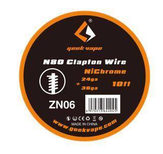Geekvape Ni80 Clapton 24ga + 36ga 3m