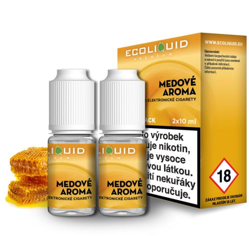 Ecoliquid med 2x10ml