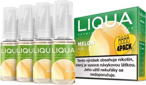 Liqua Elements Melon 6mg 4x10ml žlutý meloun
