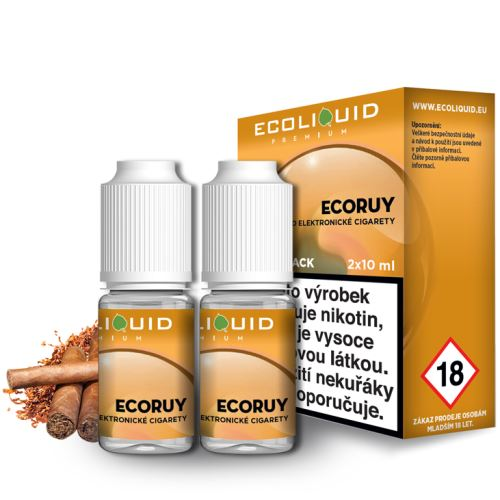 Ecoliquid Ecoruy 2x10ml