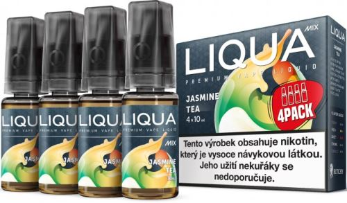 Liqua Mix Jasmine Tea 3mg 4x10ml jasmínový čaj