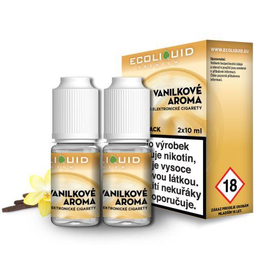 Ecoliquid Vanilka 2x10ml