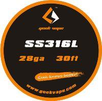 GeekVape SS316L 28ga 0,3mm 10m