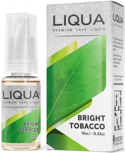 Liqua Elements Bright Tobacco 6mg 10ml čistý tabák