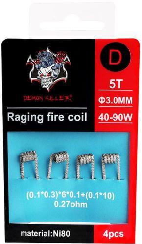 spirály Demon Killer Raging Fire typ D