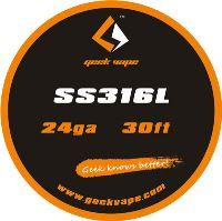 GeekVape SS316L 24ga 0,5mm 10m