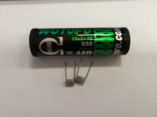 Wotofo Dual Core Fused Clapton 0,62ohm