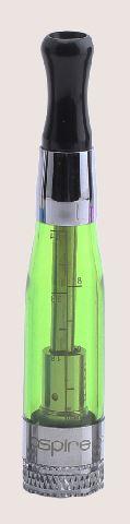 aspire BVC clearomizer zeleny