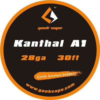 odporový drát GeekVape Kanthal A1 28ga
