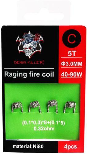 spirály Demon Killer Raging Fire typ C