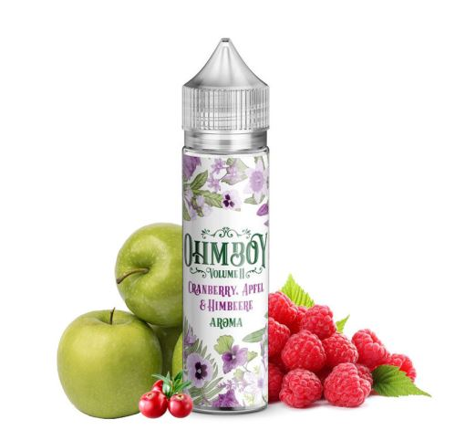 Ohmboy Volume II Brusinka, jablko a malina