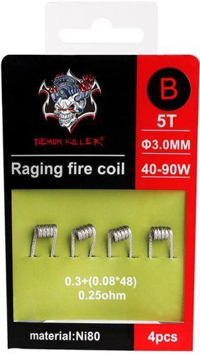 spirály Demon Killer Raging Fire typ B