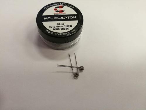 Coilology MTL Clapton 0,92ohm Ni80