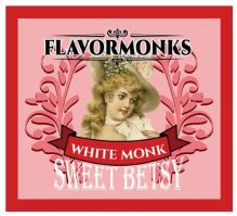 Flavormonks Sweet Betsy White Monk 10ml ovocný mix