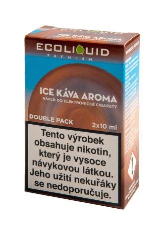 Ecoliquid 2x10ml Ice káva 0mg