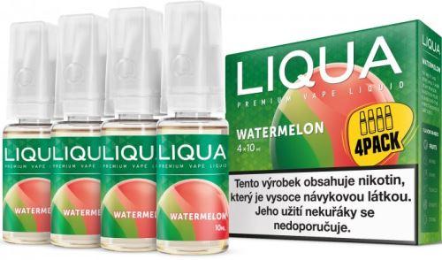 Liqua Elements Watermelon 6mg 4x10ml vodní meloun