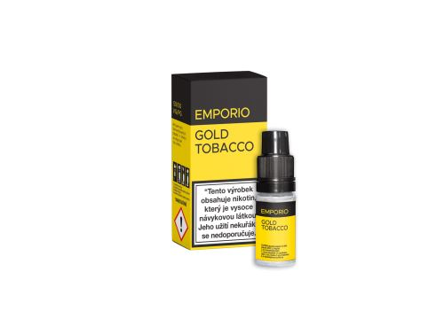 Emporio Gold Tobacco 18mg 10ml